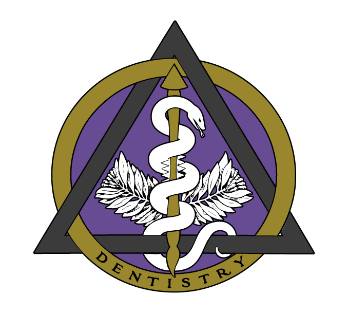 Vintage Emblem of Dentistry